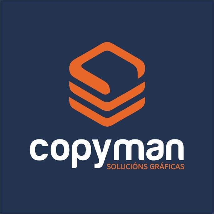 Logotipo Copyman
